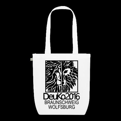 DeuKo2016 Tasche weiß - Bio-Stoffbeutel