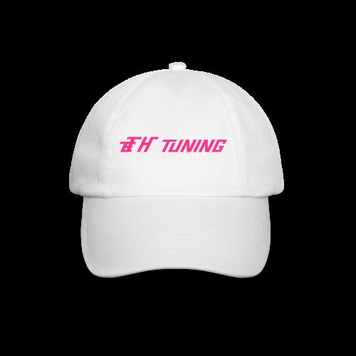 Baseballcap Ladies Weiß/Pink Logo - Baseballkappe