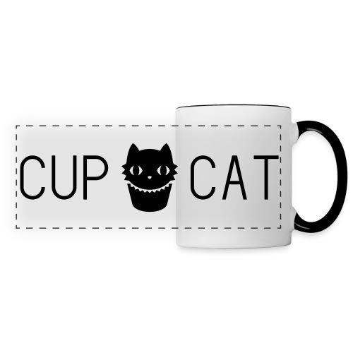 Tasse Cup Cat blanche - Mug panoramique contrasté et blanc