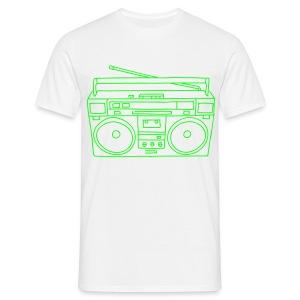 Ghettoblaster - Männer T-Shirt