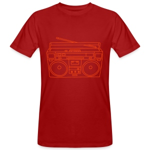 Ghettoblaster - Männer Bio-T-Shirt