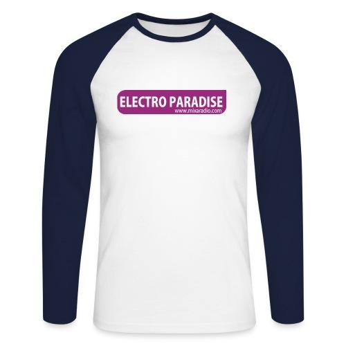 Tee shirt baseball Electro Paradise - T-shirt baseball manches longues Homme