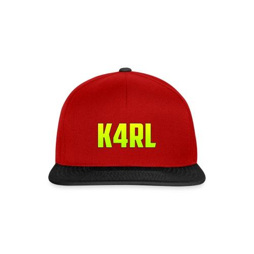 K4RL Cap - Snapback Cap