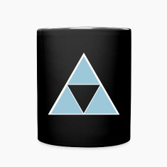 Hipster Triangle Mugs & Drinkware