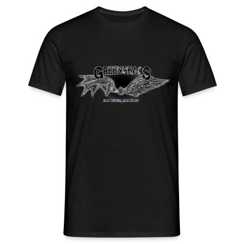 Dämon / Mensch - Schwarz - Männer T-Shirt