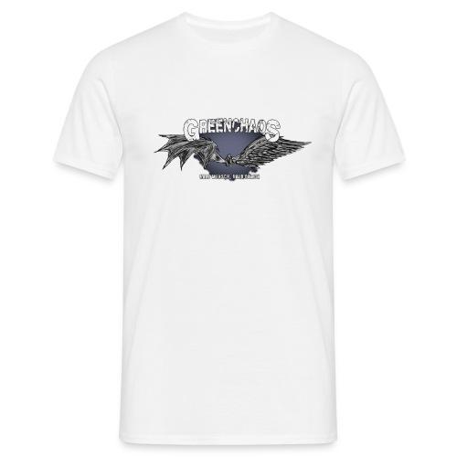 Dämon / Mensch - Weiss - Männer T-Shirt