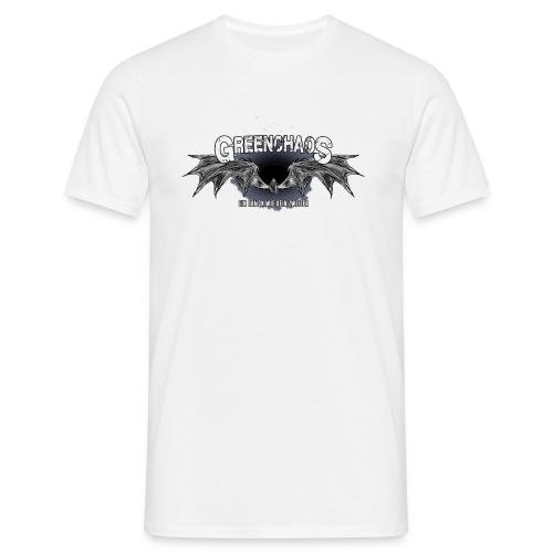 Dämon - Weiss - Männer T-Shirt