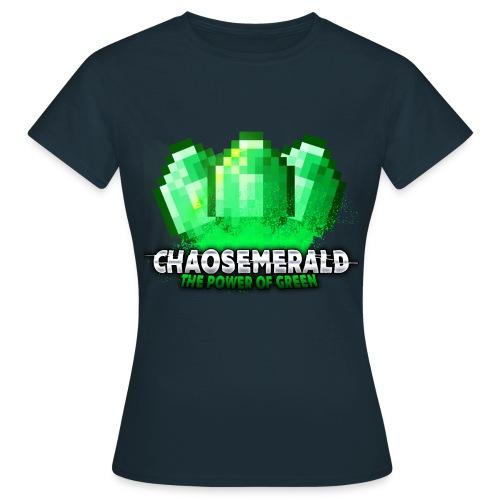 Chaos Emerald (weiblich) - Frauen T-Shirt