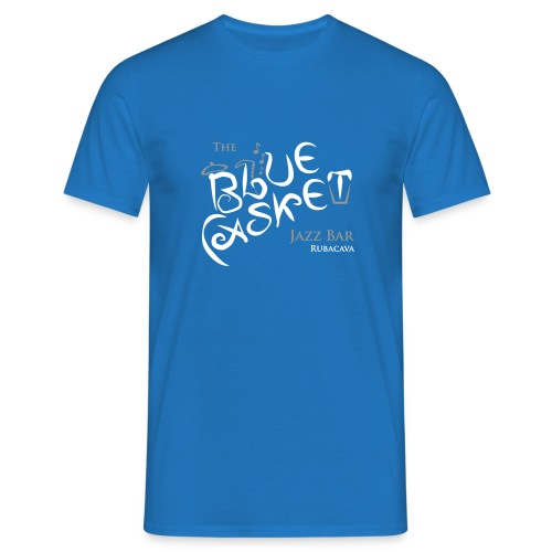 Blue Casket - Men's T-Shirt