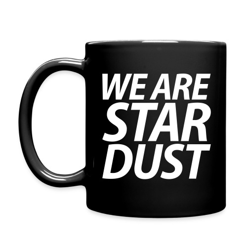 WE ARE STARDUST kursiv - Tasse einfarbig