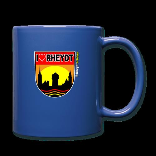 Tasse I LOVE RHEYDT (versch. Farben !) - Tasse einfarbig