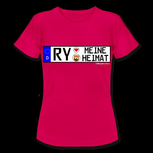 T-Shirt Damen RY-MEINE HEIMAT (versch. Farben !) - Frauen T-Shirt