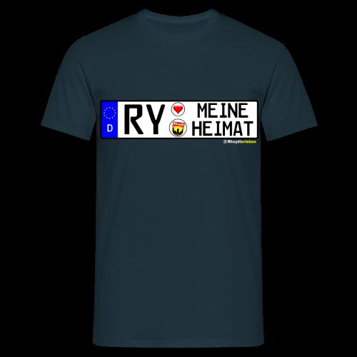 T-Shirt Herren RY-MEINE HEIMAT (versch. Farben !) - Männer T-Shirt