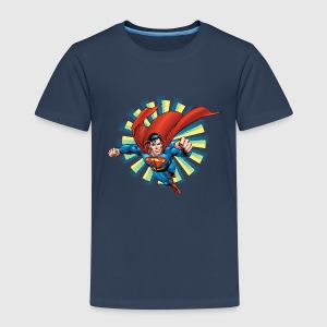 Superman Flying Pose Kids T-Shirt - Kinderen Premium T-shirt