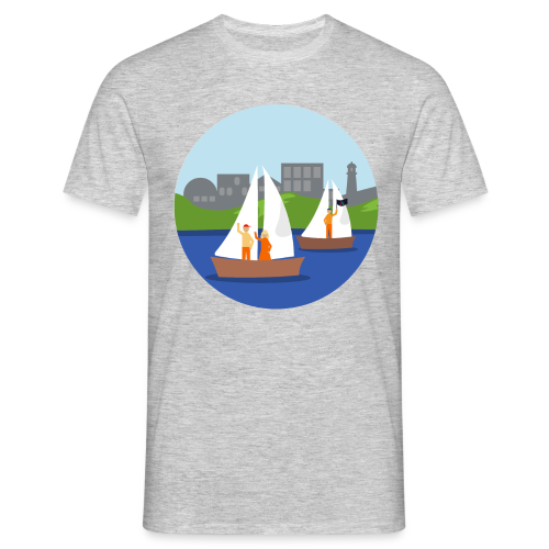Boating - Men's T-Shirt