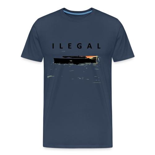 T-shirt man ILEGAL - Camiseta premium hombre