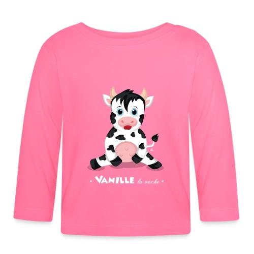T-Shirt Bébé Vanille la vache - T-shirt manches longues Bébé