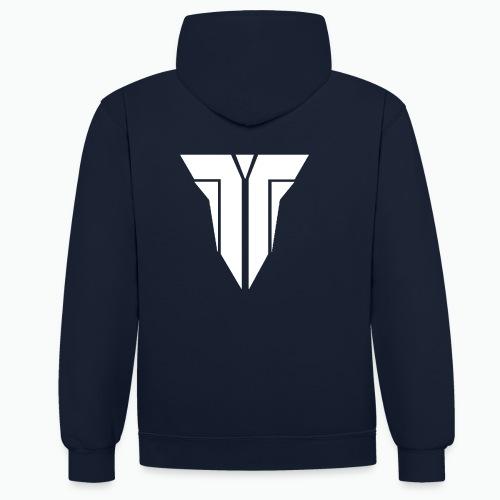 TeppixClan Contrast Hoodie - Contrast hoodie