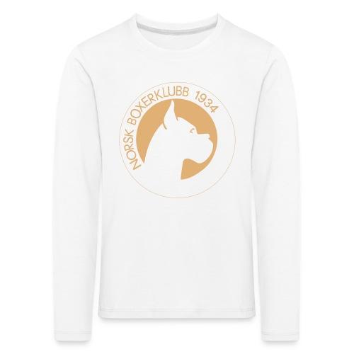Genser uten hette barn - Premium langermet T-skjorte for barn