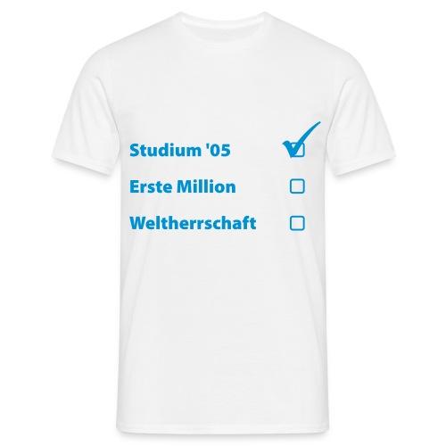Abi Shirt 3 - Männer T-Shirt