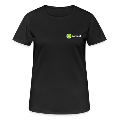 Sports Version - Small Logo, Female - Frauen T-Shirt atmungsaktiv