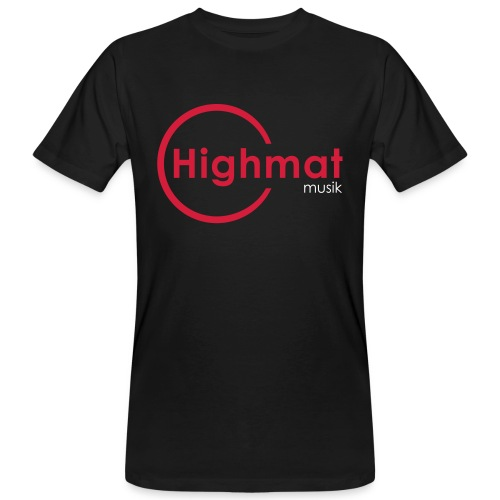 Highmatmusik Logo Shirt Bio     -R&B Edition- - Männer Bio-T-Shirt