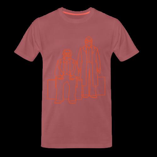 Marx-Engels-Forum Berlin - Männer Premium T-Shirt