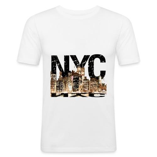 NYC t shirt - Men's Slim Fit T-Shirt