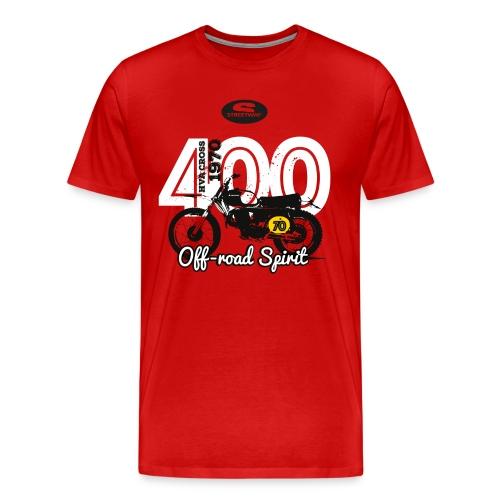 HUSKY CROSS 400 - T-shirt Premium Homme