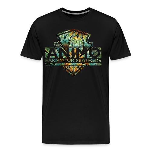 SPACE FLOWER - Mannen Premium T-shirt