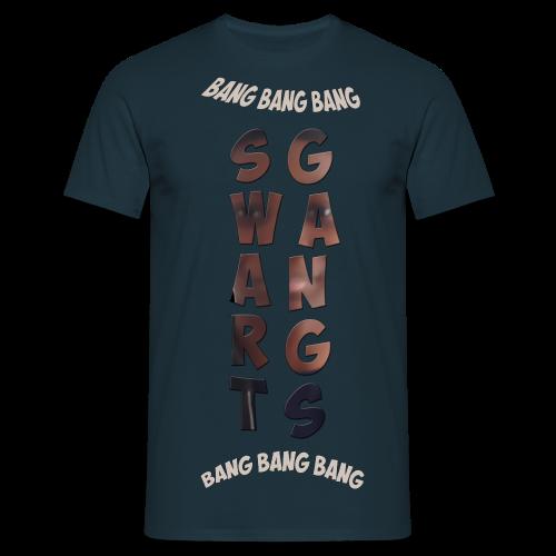 Swart Gang T-Shirt BlackDream - T-shirt Homme