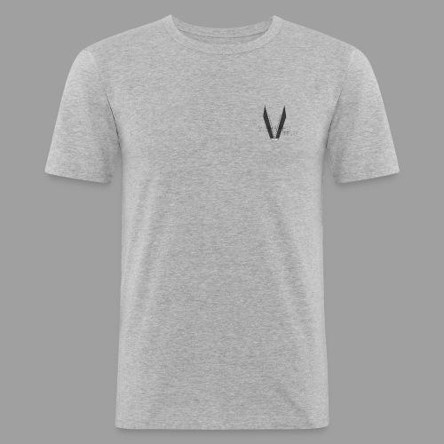 Mens Slim Fit V-SHAPED Gym Shirt - Men's Slim Fit T-Shirt