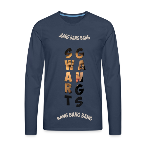Swart Gang Pull Ya2s - T-shirt manches longues Premium Homme