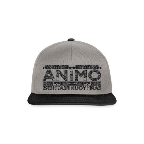 SNAPBACK TRIBAL SKULL  - Snapback cap