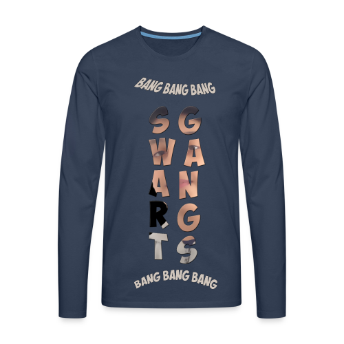 Swart Gang Pull TurctoFrench - T-shirt manches longues Premium Homme