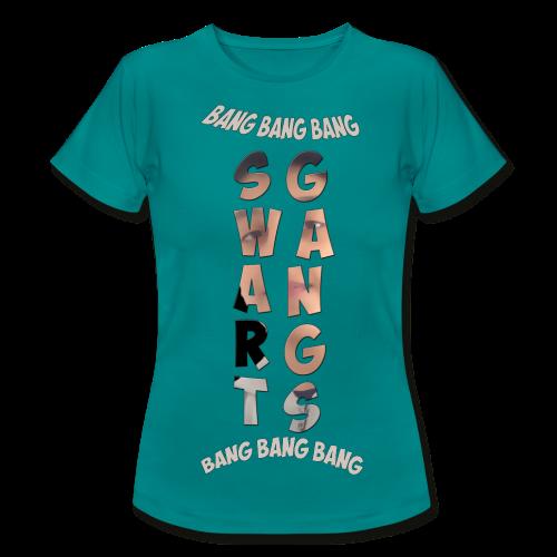 Swart Gang T-shirt TurctoFrench Femme - T-shirt Femme