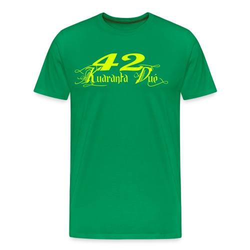 T Premium jaunefluo - T-shirt Premium Homme