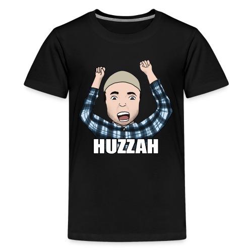 Fuse4Gaming | Huzzah (Teenage Premium T-Shirt) - Teenage Premium T-Shirt