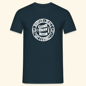 Craft Beer, Kerlie - Männer T-Shirt