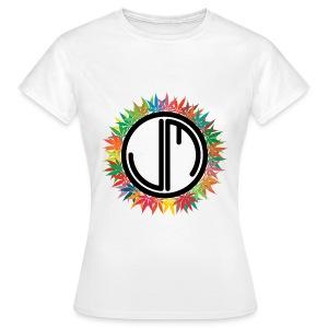Happy 420 Logo Schwarz - Women's T-Shirt