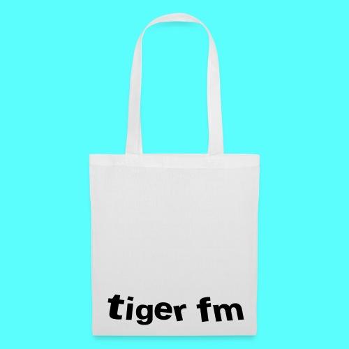 tiger fm logo Beutel - Stoffbeutel