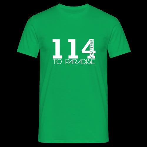 114 Chapters Shirt - Männer T-Shirt