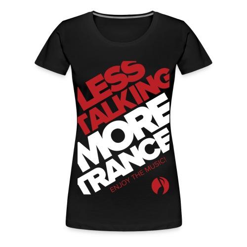TFB | Less Talking - RED - Women's Premium T-Shirt