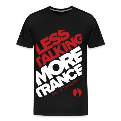 TFB | Less Talking - RED - Men's Premium T-Shirt