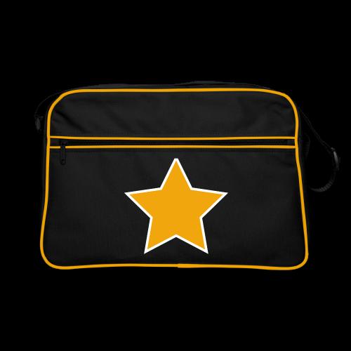 Retro Tasche - Stern - Retro Tasche