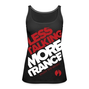 TFB | Less Talking - RED - Women's Premium Tank Top