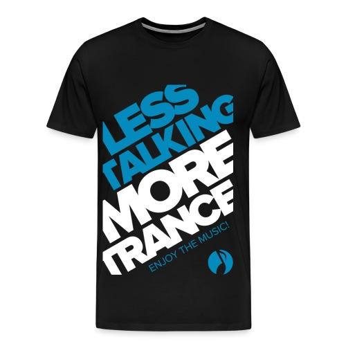 TFB | Less Talking - BLUE - Men's Premium T-Shirt