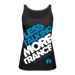 TFB | Less Talking - BLUE - Women's Premium Tank Top
