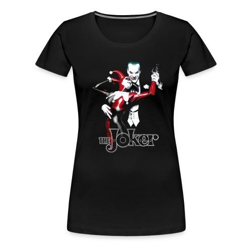 Batman Joker 'Dance' Frauen T-Shirt - Frauen Premium T-Shirt