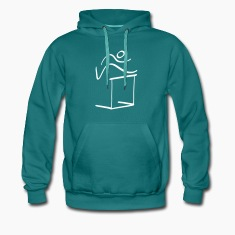 Athletics Hurdles Pictogram Hoodies & Sweatshirts